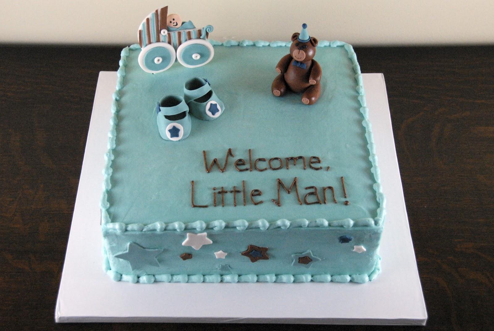 night baking welcome little man raquel 39 s baby shower cake