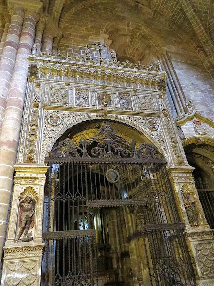 Turismo rural en Sigüenza. Capilla de la Anunciación, catedral de Sigüenza