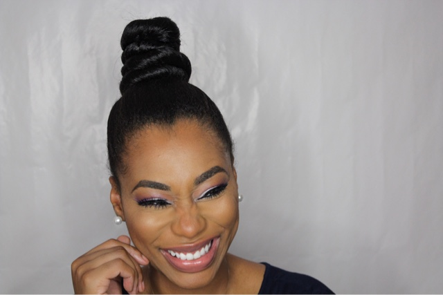How to do a top knot bun hair tutorial chimere nicole how to do a top knot bun hair tutorial pmusecretfo Choice Image