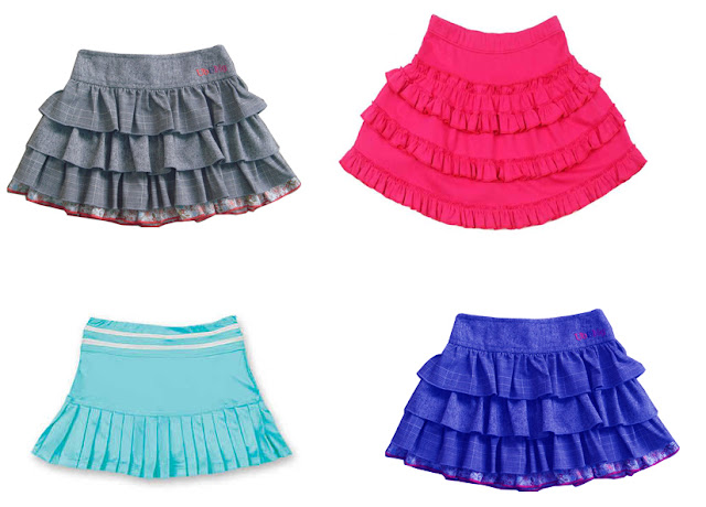 Kids Girls Short Skirt