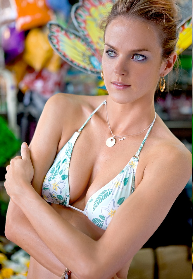Latest Showing Stills Shannan Click in Hot Bikini Latest