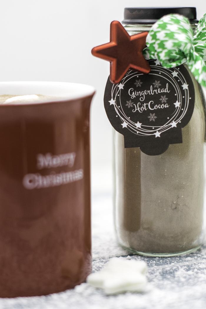 Gift cocoa with a mug