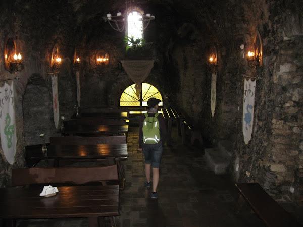 restauracja na zamku ogrodzieniec