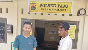Dua Pemuda Diringkus Aparat Polsek Pajo Nekad Mencuri Kambing
