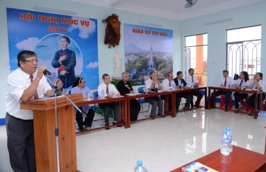 Hội nghị tổng kết mục vụ Giáo xứ Tuy Hòa