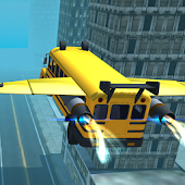 Flying Bus Simulator 2016