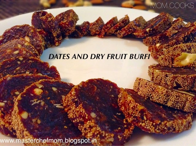 Dry Fruit Burfi | Healthy Burfi Recipe