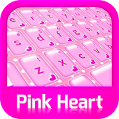 Keyboard Pink Heart