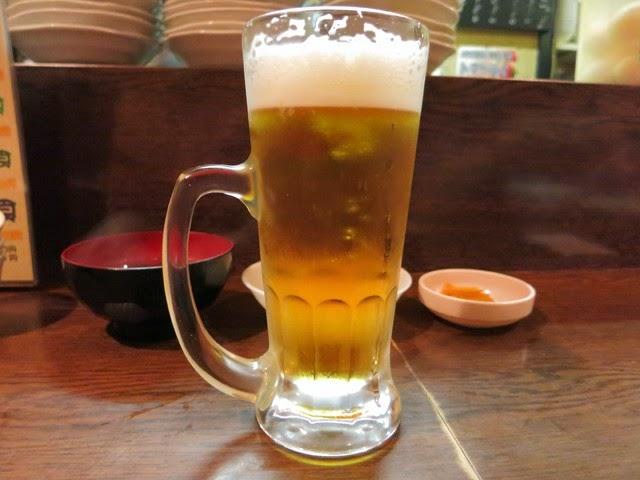 ジョッキに入った生ビール