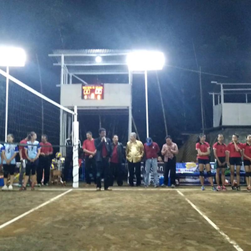 Pembukaan Turnamen Bola Voli Mutiara Cup VI