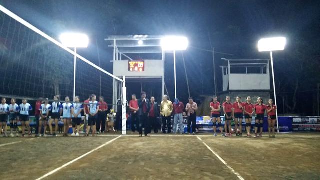 Ketua DPRD Sleman membuka Turnamen Bola Voli Mutiara Cup VI