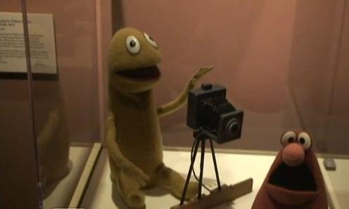 Dos de los primeros muñecos de Jim Henson expuestos en Nueva York