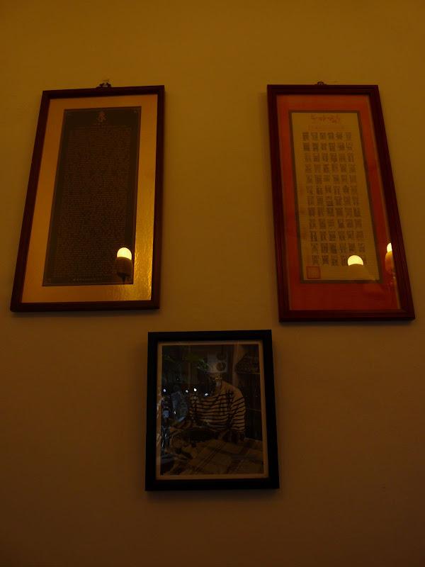 surprenante photo de Picasso dans un banal café de Keelung