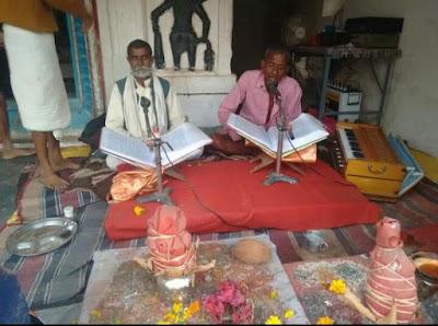 SUNDRKAND-हनुमान मंदिर पर हुआ सुंदरकांड पाठ का आयोजन