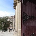 Église Notre-Dame-de-la-Croix de Ménilmontant : portail