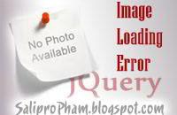 no image, error image jquery, kiểm tra lỗi load hình với jquery