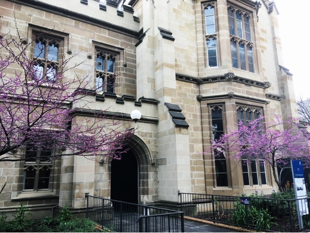 Spring at the University of Melbourne
