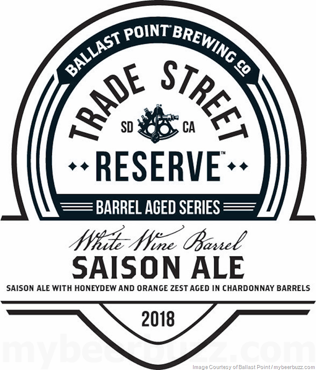 Ballast Point White Wine Barrel Saison Coming To Trade Street Reserve Series