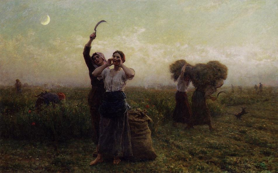 Jules Breton - Evening Call