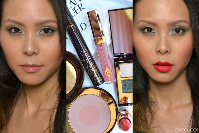 Charlotte Tilbury The Rebel Makeup Look Review
