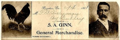 This is the top of S A Ginn's invoices from his business.jpg
