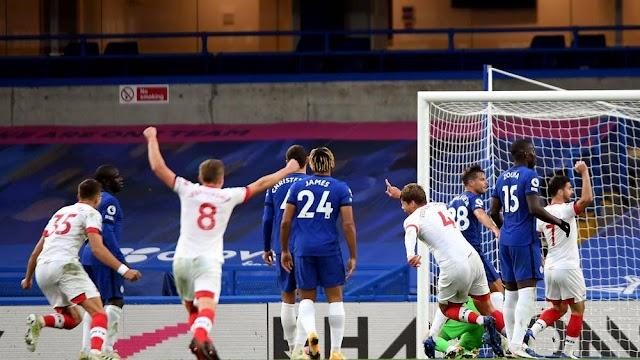 Southampton Late Strike Earn A Point Against Chelsea