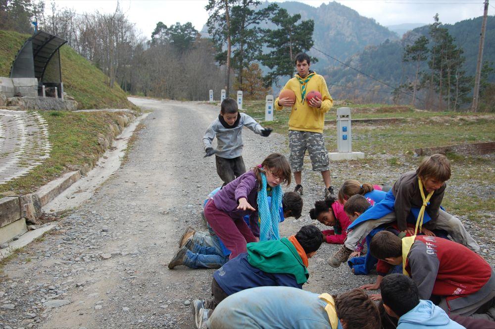 Sortida Castors i Llops a la Roca del Secut 2010 - DSC_0785.JPG
