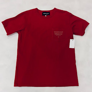 Bianca Chandon NEW Western Pocket T-Shirt Red