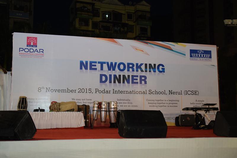 Networking Dinner - Podar International School - 2