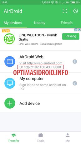 Cara Menampilkan Layar Android ke Laptop/PC