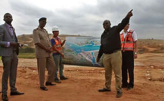 Mr. David Kimingi Thwake dam consultant, Machakos. PHOTO | NMG