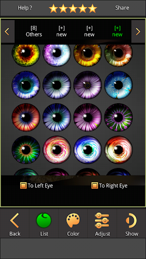 FoxEyes - Change Eye Color by Real Anime Style screenshot 9