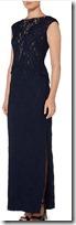 Lauren Ralph Lauren lace embellished gown