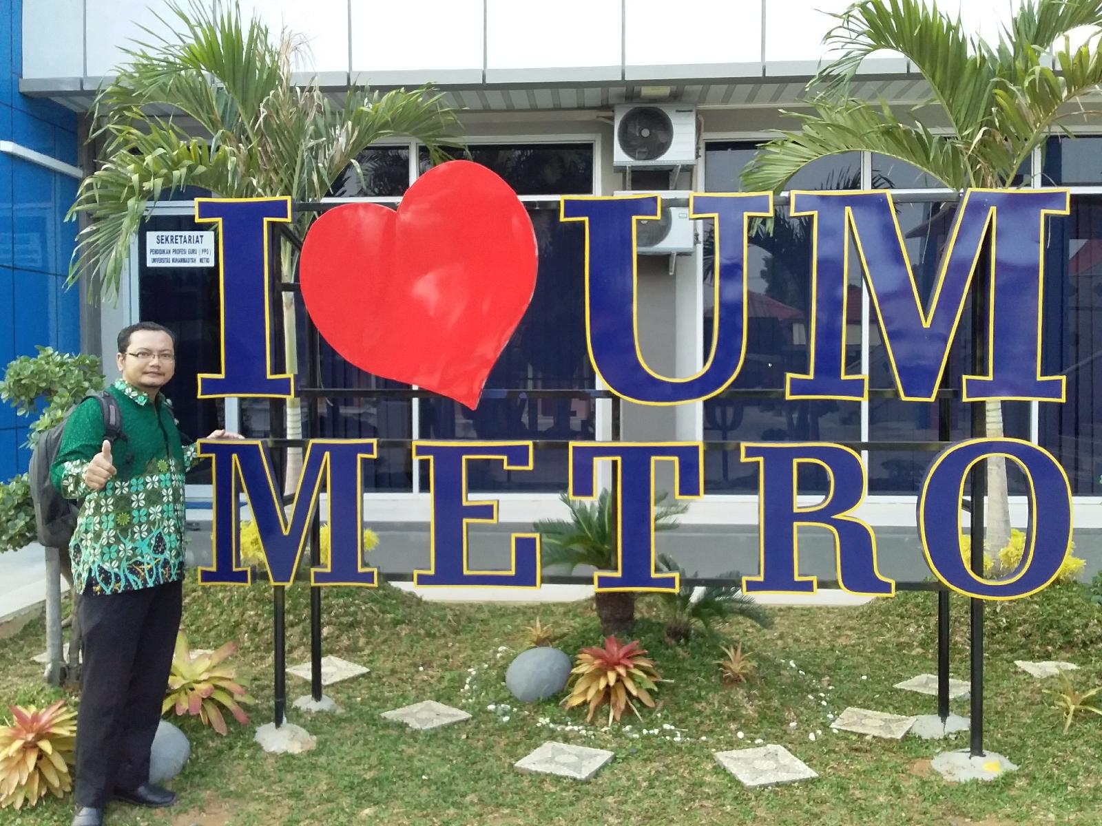 Tampilan Baru di Kampus Universitas Muhammadiyah Metro