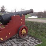 giant canon in Copenhagen, Copenhagen, Denmark