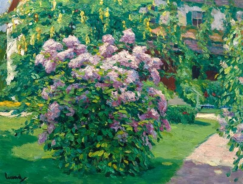 Edward Cucuel - Garden