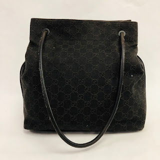 Gucci Monogrammed Tote
