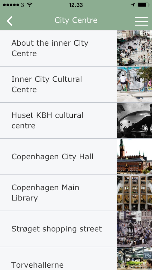 Visitor Guide Copenhagen- screenshot
