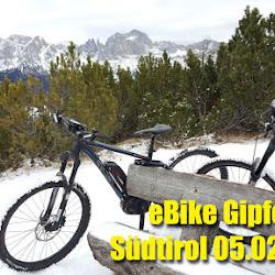eBike Gipfeltour 05.02.16