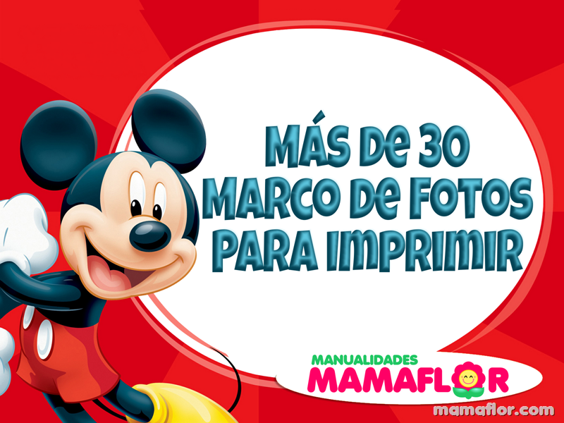 +30 Marcos de Fotos de Mickey Mouse · Minnie · Donald