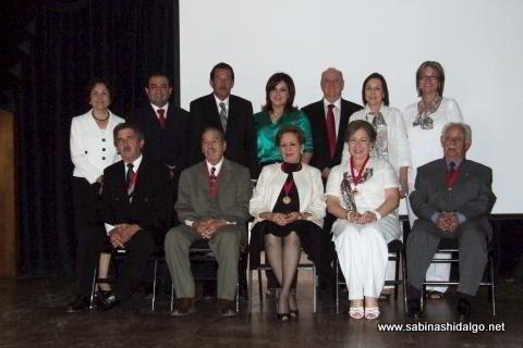 Entrega de la medalla al Sabinense Distinguido