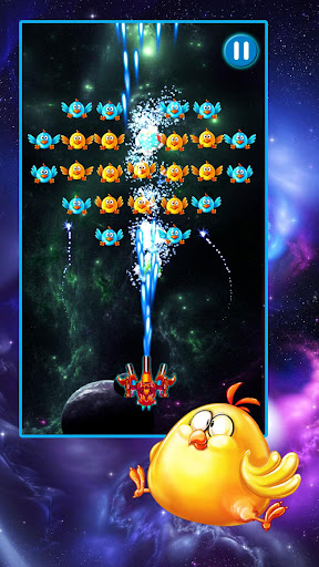 Chicken Shooter: Galaxy Attack  captures d'écran 1