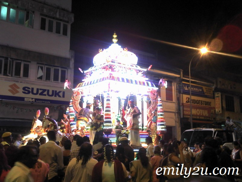 Thaipusam: Lord Muruga's Chariot Procession in Ipoh