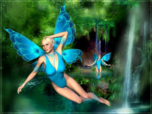 Glamorous Pixie Of Nature, Fairies 3