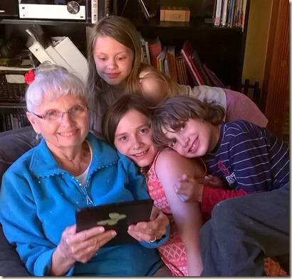 5-27 Darlene and kids