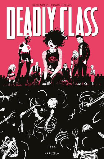 Deadly Class tom 5 okładka