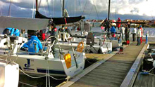 J/111 sailing and training in Benelux