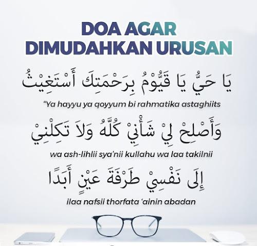 doa agar dimudahkan urusan