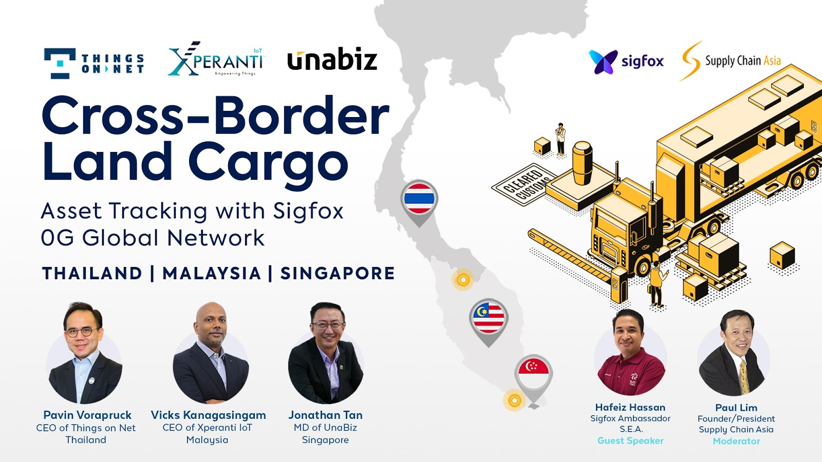 TUX เพิ่มความยืดหยุ่นของซัพพลายเชนด้านขนส่งระหว่างประเทศ Singapore - Malaysia - Thailand
