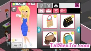 Game quản lý cửa hàng thời trang trên iPhone